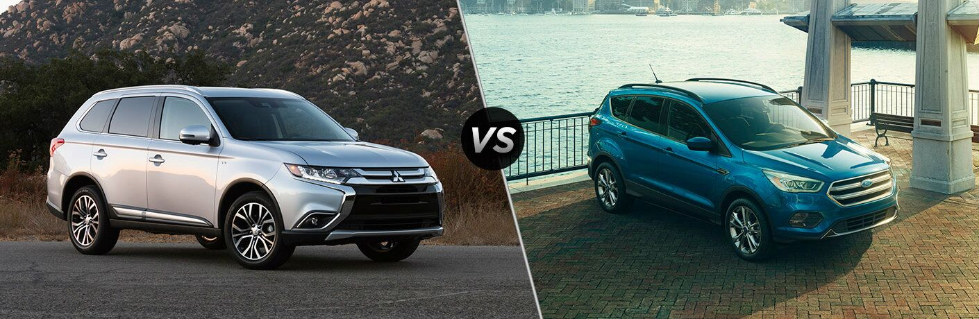 2017 Mitsubishi Outlander vs 2017 Ford Escape