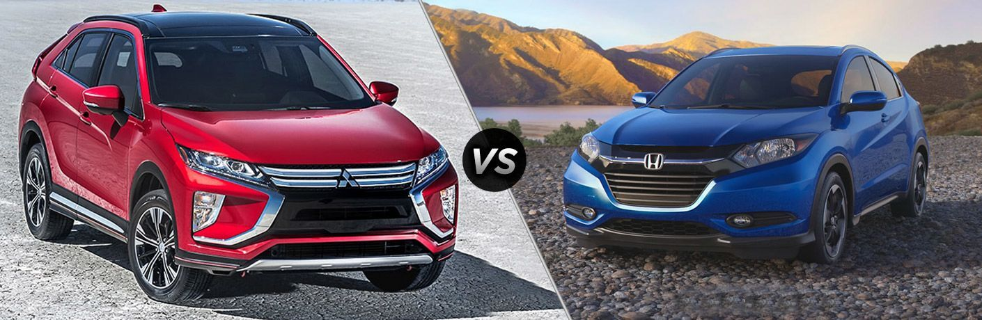 2018 Mitsubishi Eclipse Cross vs 2018 Honda HR-V