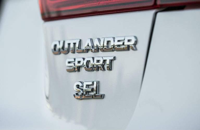 2018 Mitsubishi Outlander Sport badging