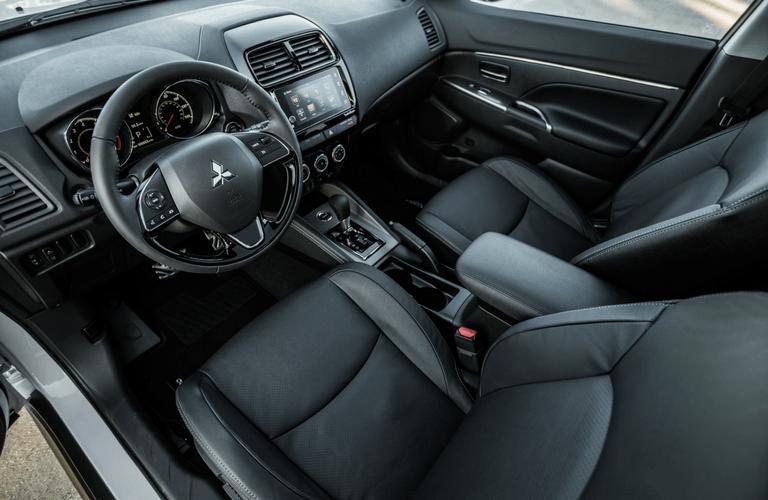 2018 Mitsubishi Outlander Sport interior front seats