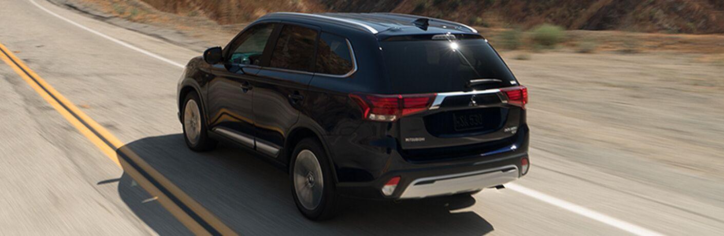 2019 Mitsubishi Outlander exterior rear