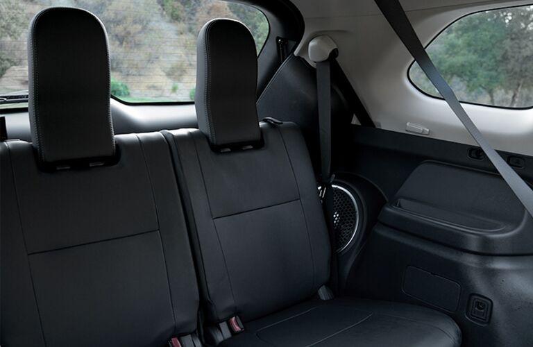 2019 Mitsubishi Outlander second row seating