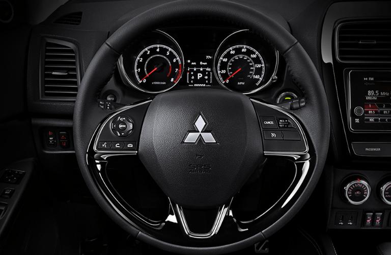 2019 Mitsubishi Outlander Sport interior front