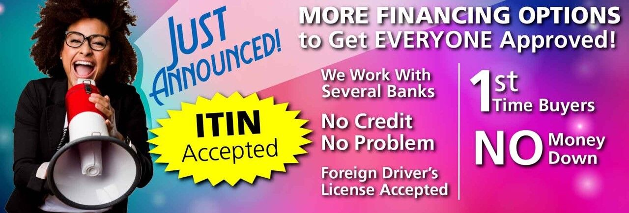 image promoting new financing options at continental mitsubishi