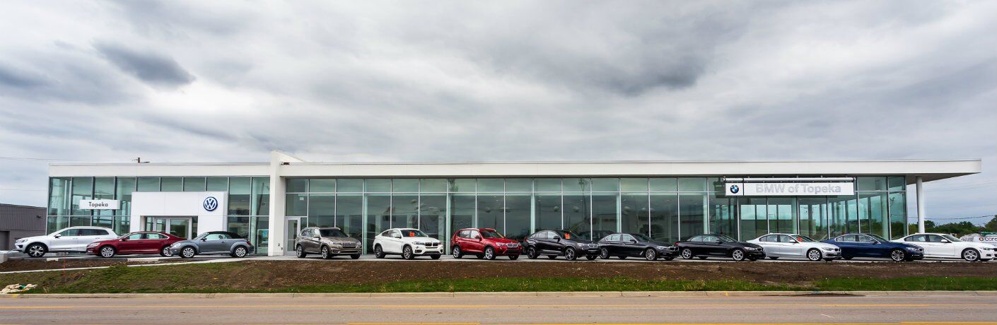 New Facilities at the New BMW and Volkswagen of Topeka