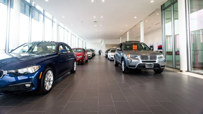 new state-of-the-art showroom at the New BMW and Volkswagen of Topeka