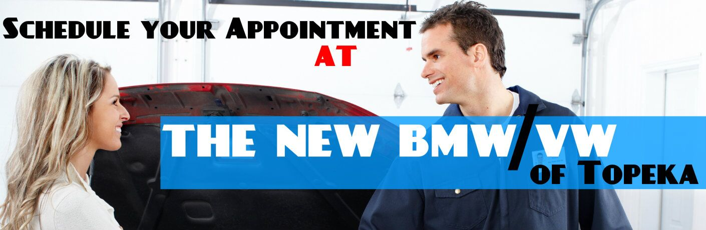 Scheduling an Appointment At the New BMW VW of Topeka KS