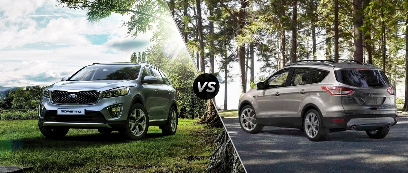 2016 Kia Sorento vs 2016 Ford Escape
