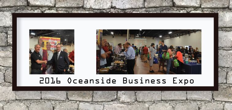 2016 Oceanside Business Expo. Classic Chariots and Mayor of Oceanside