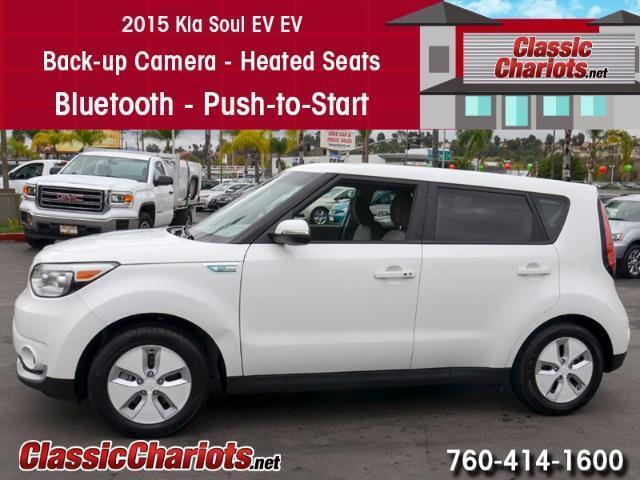 Used 2015 Kia Soul EV for Sale in Vista