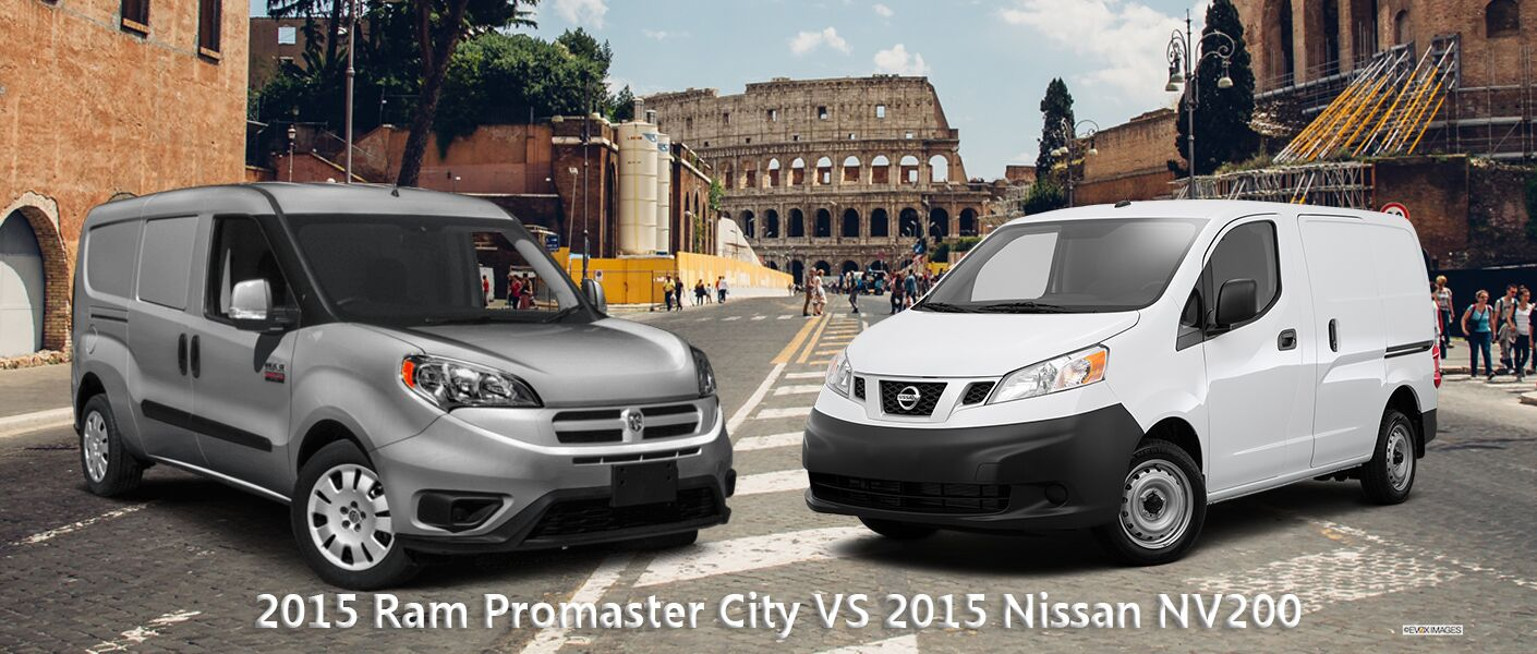 2015 RAM Promaster Cargo Van VS 2015 Nissan NV Minivan
