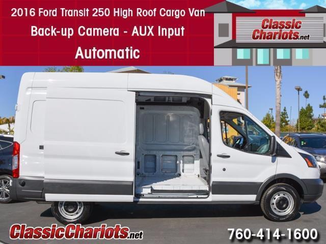 2016 Ford Transit 250 High Roof Cargo Van
