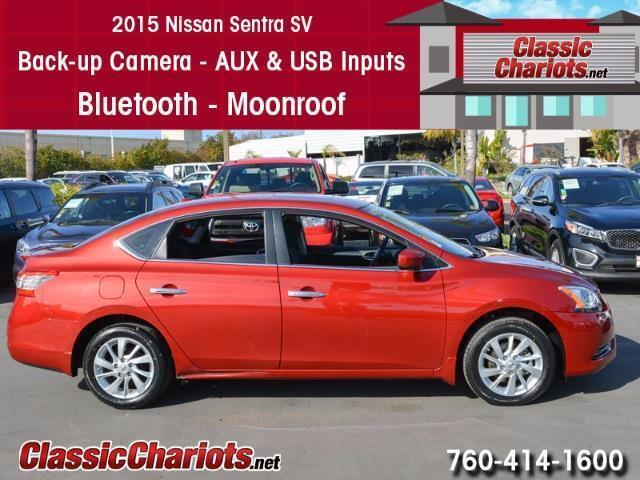 Used 2015 Nissan Sentra SV for Sale in San Diego