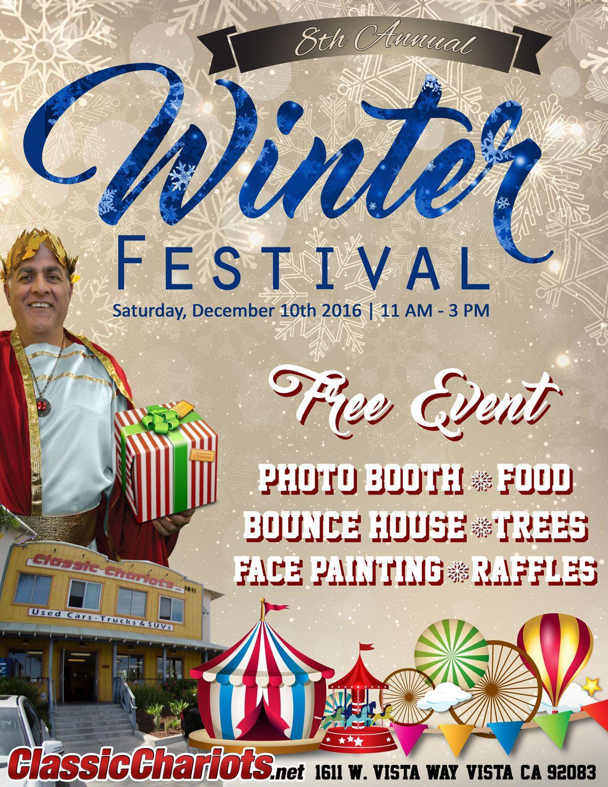 Classic Chariots 8th Annual Winter Festival