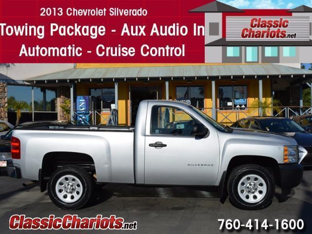 Used 2013 Chevrolet Silverado 1500 W/T Regular Cab for Sale in Oceanside