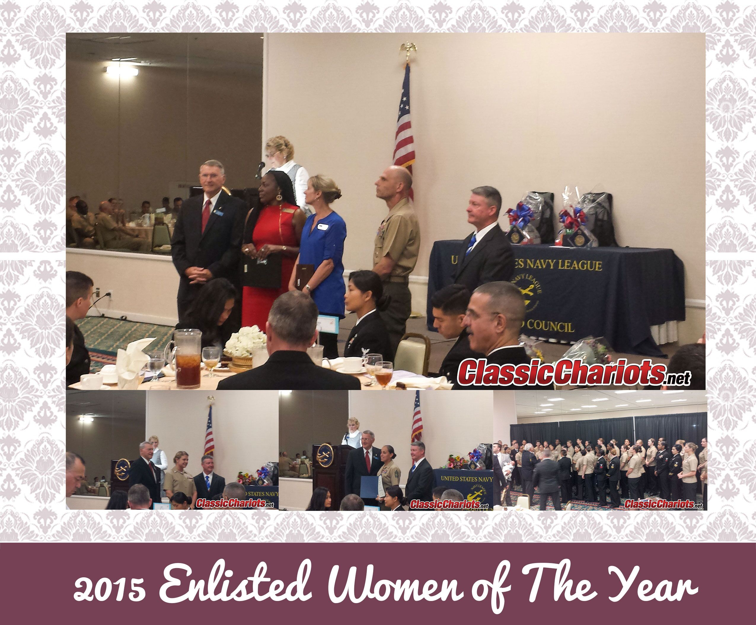 Classic Chariots was proud to attend 2015 Enlisted Women of the Year