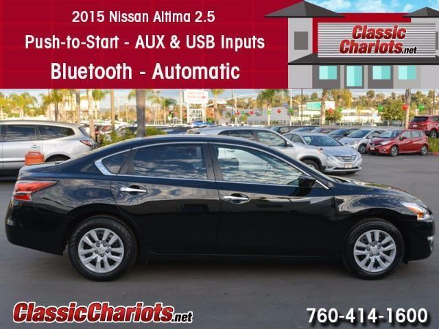 Used 2015 Nissan Altima 2.5 for Sale in Oceanside
