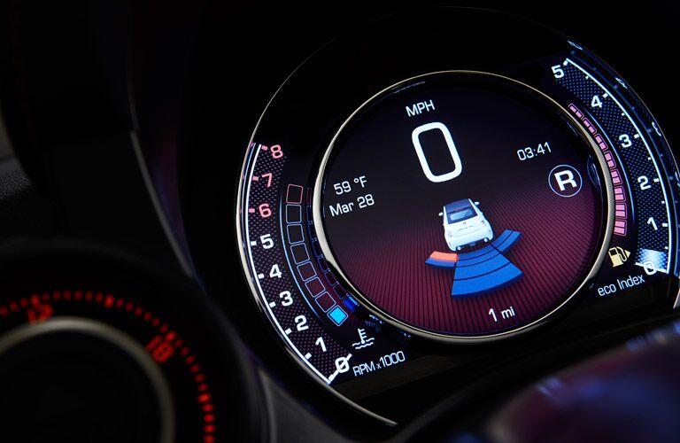 2017 Fiat 500 driver information center