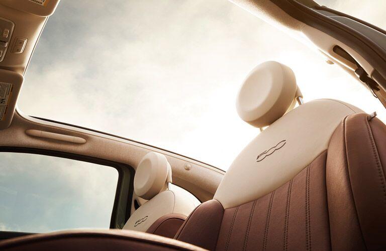 2017 Fiat 500 Two Tone Leather Interior
