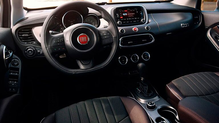 interior 2016 Fiat 500X in Kenosha, WI