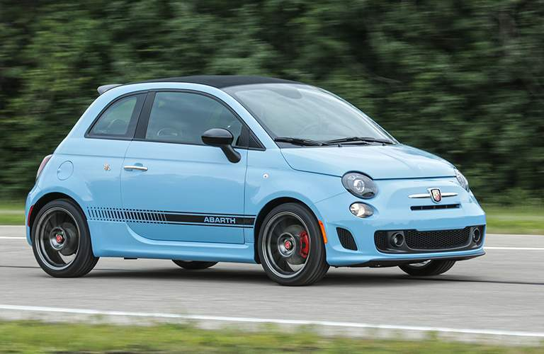 2017 Fiat 500 Abarth color options