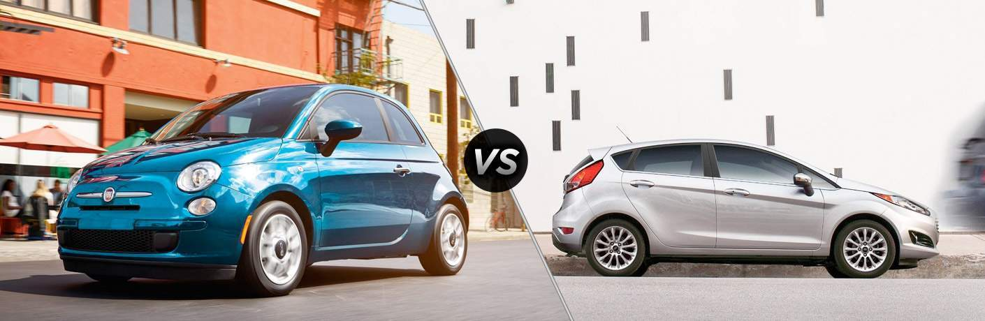 2017 Fiat 500 vs 2018 Ford Fiesta