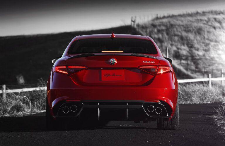 2017 Alfa Romeo Giulia Taillight Design