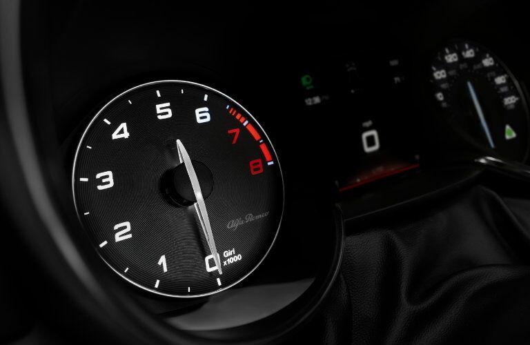 2017 Alfa Romeo Giulia Dashboard