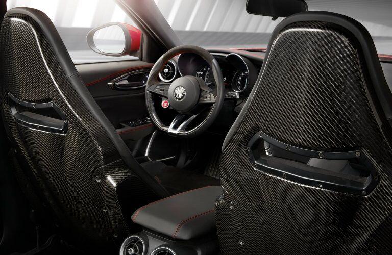 2017 Alfa Romeo Giulia Sport Seats