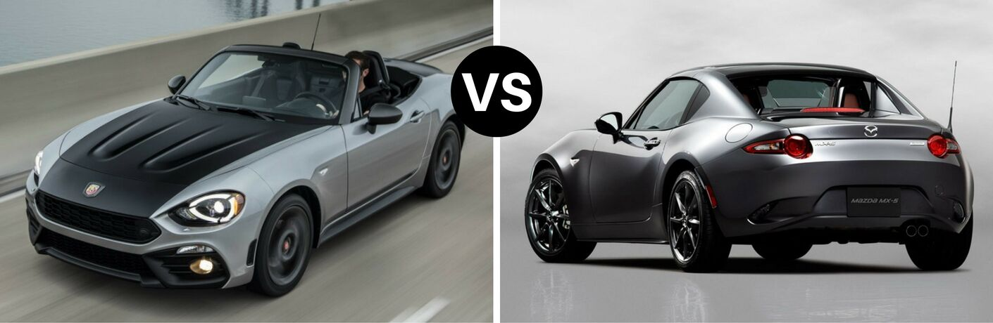2017 Fiat 124 Spider vs 2017 Mazda Miata