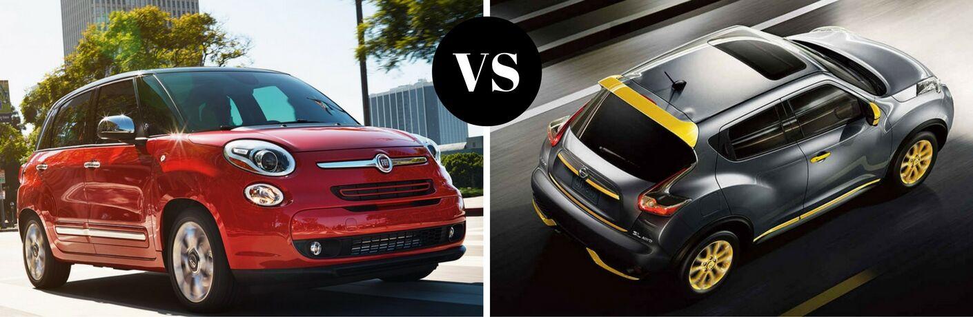 2017 Fiat 500L vs 2017 Nissan Juke