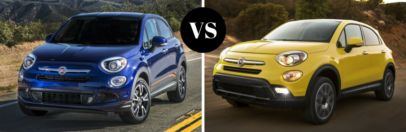 2017 Fiat 500X Pop vs 2017 Fiat 500X Trekking