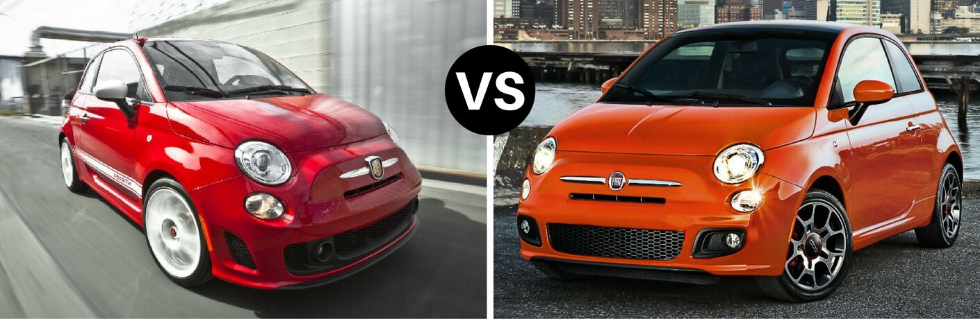 2017 Fiat 500 vs 2016 Fiat 500