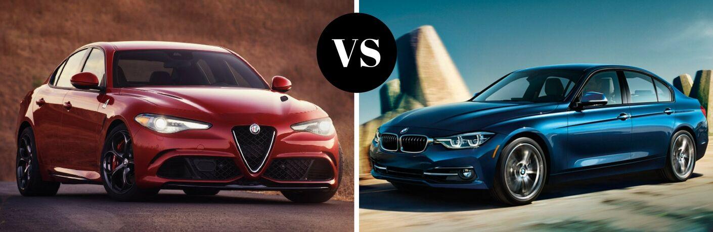 2017 Alfa Romeo Giulia vs 2017 BMW 3-Series