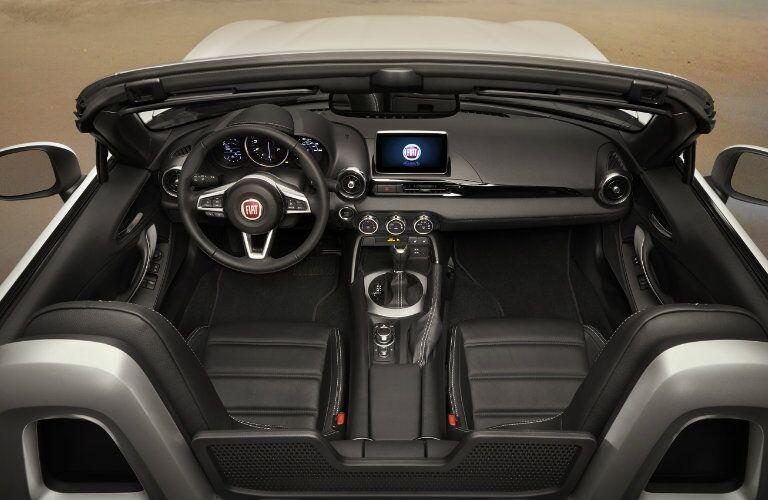 2017 Fiat 124 Spider Interior Color options