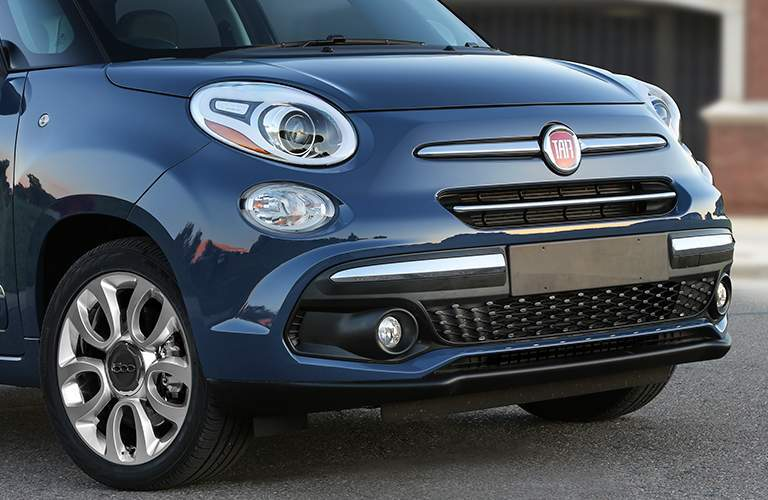 2018 Fiat 500L front of the car
