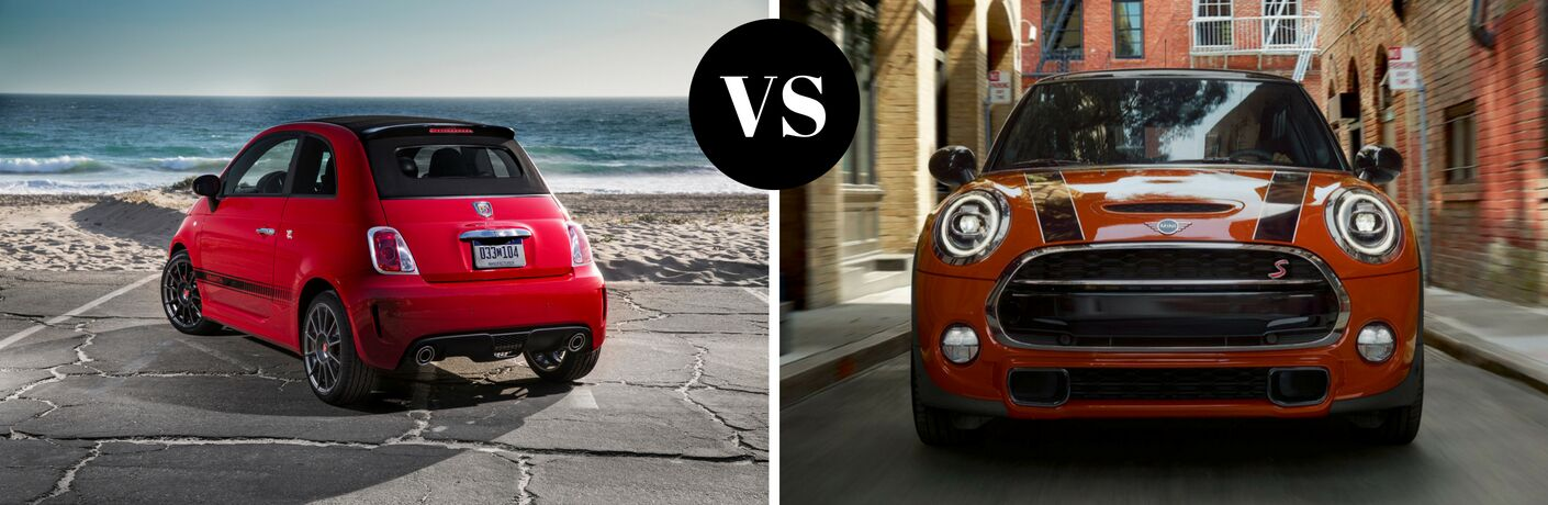 2018 Fiat 500 Abarth vs 2018 MINI Hardtop Cooper S
