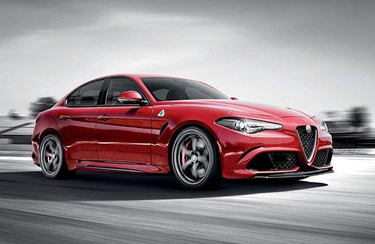 2017 Alfa Romeo Giulia Quadrifoglio color option