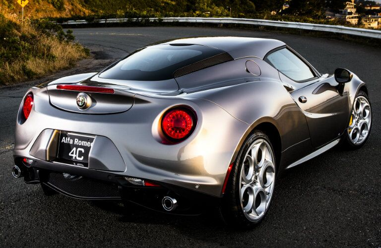 2017 Alfa Romeo 4C Coupe Exterior Color Options