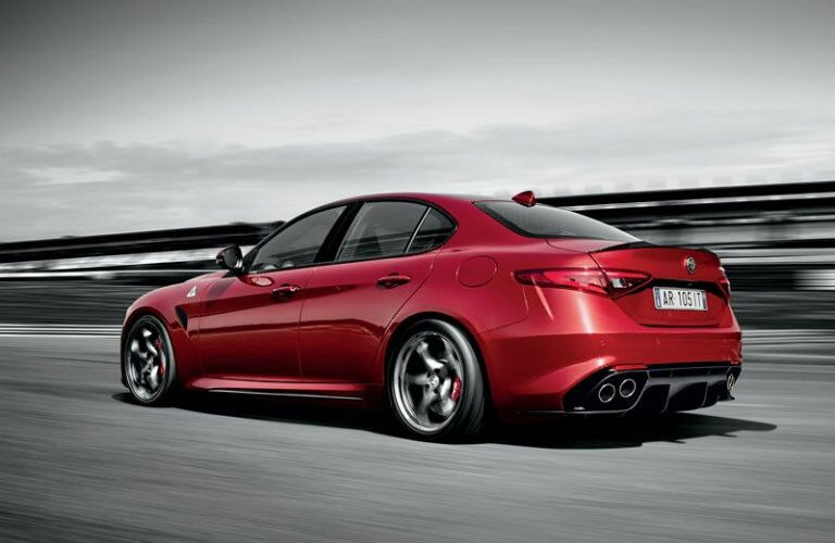 2017 Alfa Romeo Giulia top speed