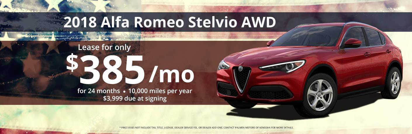 Alfa Romeo Stelvio Lease Evanston IL - Fiat lease special