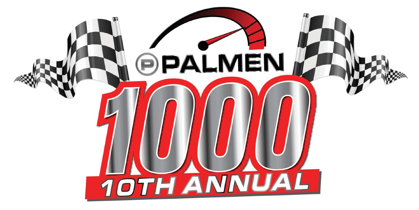 10th Annual Palmen 1000 Sales Event Logo Banner