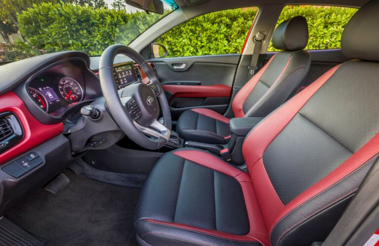 2018 Kia Rio Two Tone leather Seats