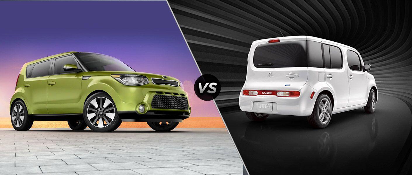 2014 Kia Soul vs 2014 Nissan Cube