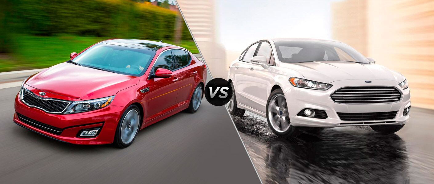 2014 Kia Optima vs 2014 Ford Fusion