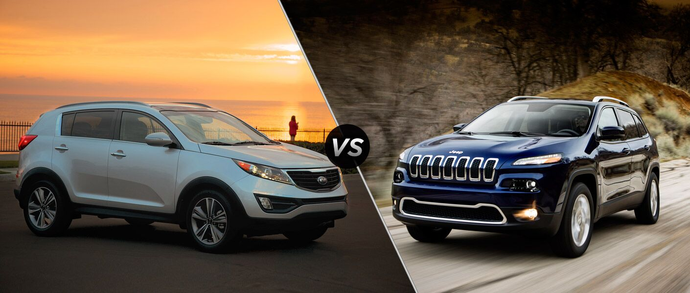 2014 kia sportage vs 2014 jeep cherokee. Black Bedroom Furniture Sets. Home Design Ideas