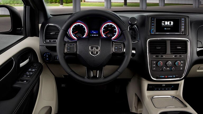 Interior 2016 Dodge Grand Caravan