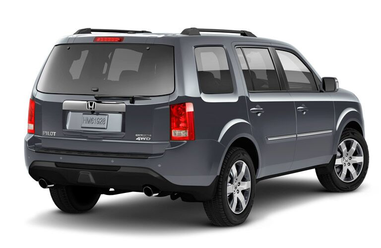 2016 Honda Pilot Rear View New Taillights