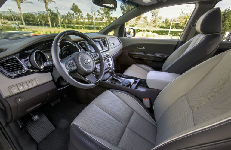 2016 Kia Sedona First Row Seats
