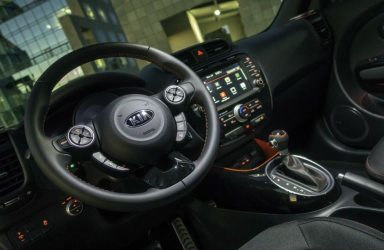 2015 Kia Soul Interior Dash Steering Wheel